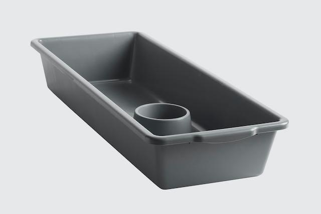 FB40-GREY-C - Reptile Tub